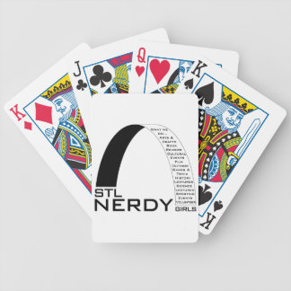 STL Nerdy Girls Card Pack Bicycle Playing Cards