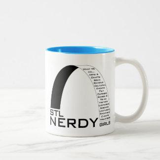 STL Nerdy Girls Ceramic Mug