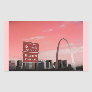 STL POP RECTANGULAR STICKER