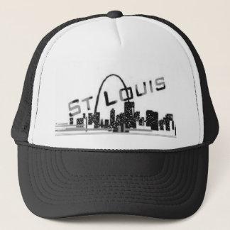 STL Riverfront view Trucker Hat