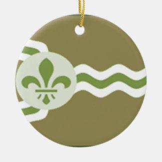 STL Subdued.png Ceramic Ornament