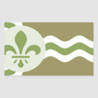 STL Subdued.png Rectangular Sticker