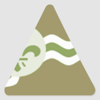 STL Subdued.png Triangle Sticker