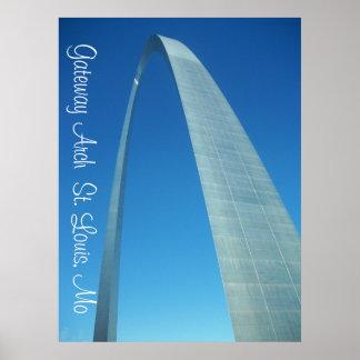 STLOUISARCH4, arco St. Louis, MES de la entrada Poster