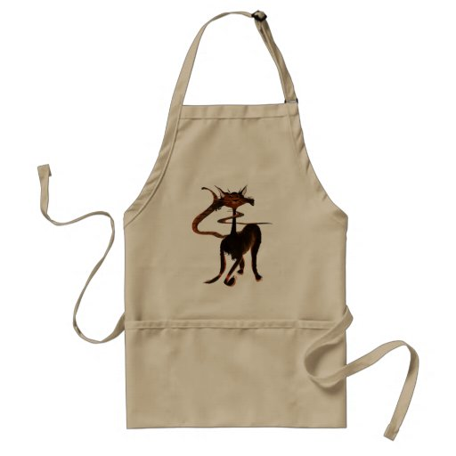 Stlylin' Brown Cat Apron