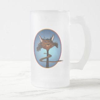 Stlylin' Brown Cat Face Mug