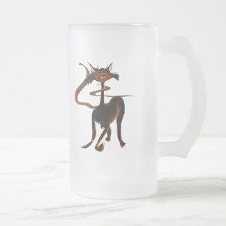 Stlylin' Brown Cat Mug