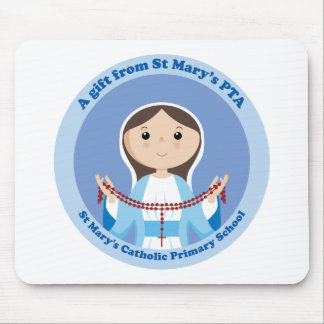 StMary's Catholic Primary PTA Mouse Pad