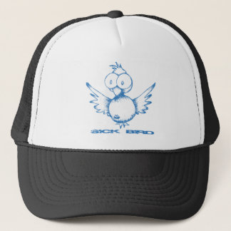 stmpo Sick Bird, not twitter Trucker Hat