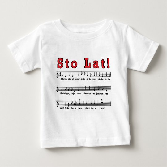 Sto Lat! Song Baby T-Shirt