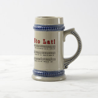 Sto Lat! Song 18 Oz Beer Stein