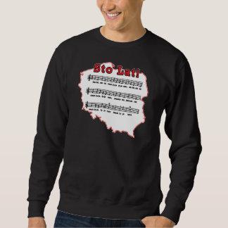Sto Lat! Song Polish Map Sweatshirt