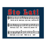 Sto Lat! Song Postcard