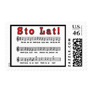 Sto Lat! Song Stamps