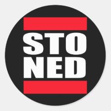 STO NED CLASSIC ROUND STICKER