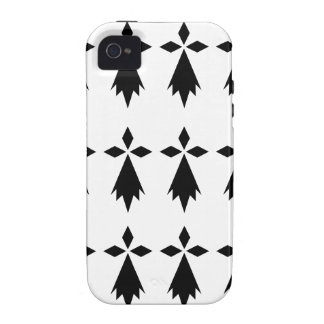 stoat Brittany flag Case-Mate iPhone 4 Covers