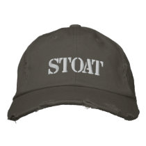 STOAT EMBROIDERED BASEBALL HAT