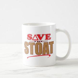 Stoat Save Coffee Mug