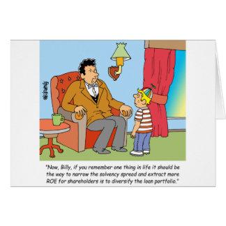 STOCK BROKER  / INVESTOR / FINANCIAL GREETING CARD