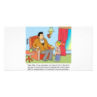 STOCK BROKER  / INVESTOR / FINANCIAL CUSTOMIZED PHOTO CARD