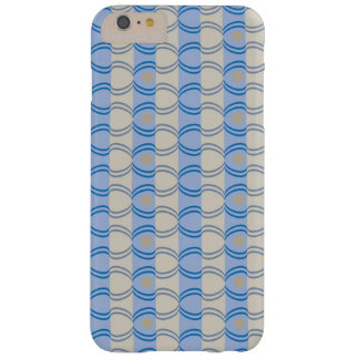 Stock Candystripe Blue Tan Barely There iPhone 6 Plus Case