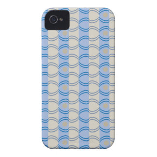 Stock Candystripe Blue Tan iPhone 4 Covers