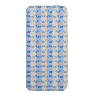 Stock Candystripe Blue Tan iPhone 5 Pouch