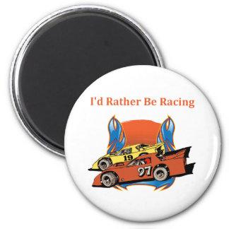 Stock Car Racing Magnet