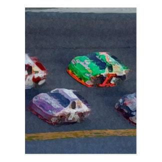 Stock Cars 4 Postcards