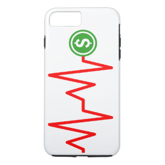 Stock Chart Dollar Sign iPhone 8 Plus/7 Plus Case