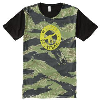 Stock Class Paintball Vietnam Tiger Stripe Camo All-Over-Print Shirt