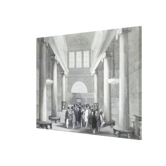 Stock Exchange Canvas Print