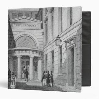 Stock Exchange, London, from 'Metropolitan Binder
