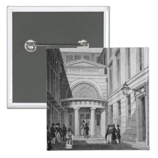 Stock Exchange, London, from 'Metropolitan Button