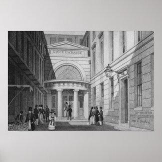 Stock Exchange, London, from 'Metropolitan Poster