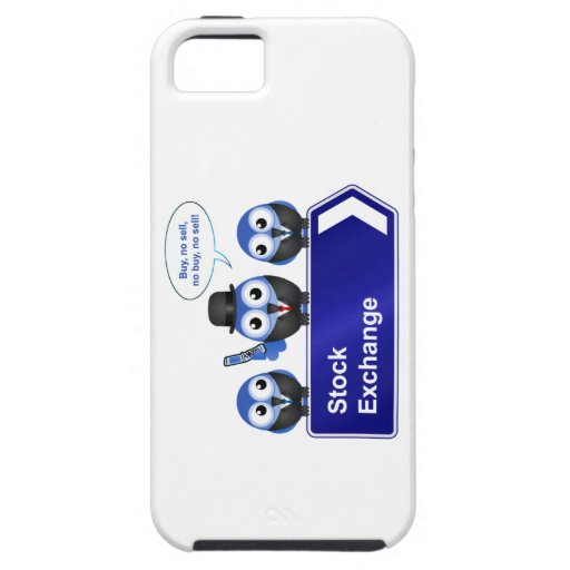 Stock exchange sign iPhone 5 covers