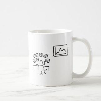 stock exchange stock broker fund manager coffee mug