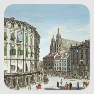 Stock-im-Eisen-Platz, with St. Stephan's Square Sticker