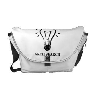 Stock market Arch average Search Courier Bag
