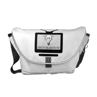 Stock market Arch average Search TV Courier Bag