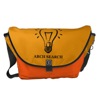 Stock market Arch great Search Courier Bag
