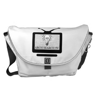 Stock market Arch great Search TV Courier Bag