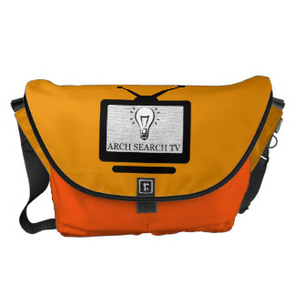 Stock market Arch great Search TV Messenger Bag