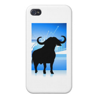 Stock Market Bull Cover For iPhone 4
