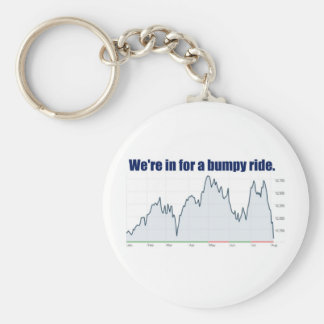 STOCK MARKET CHART BUMPY RIDE KEY CHAINS
