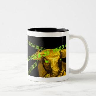 Stock Market Coffee Bull Two-Tone Coffee Mug