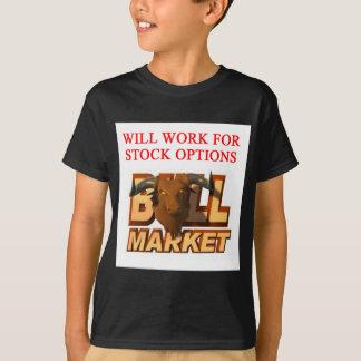 STOCK market cramer joke T-Shirt