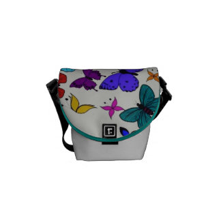"""Stock market """"Farfalle """" Courier Bags"""