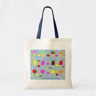 Stock market, hoists cream and candy tote bag