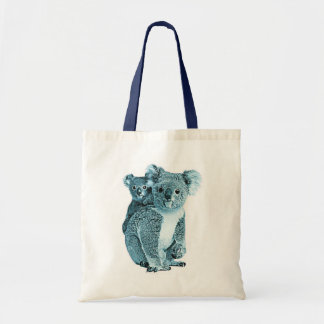 stock market koalas tote bag